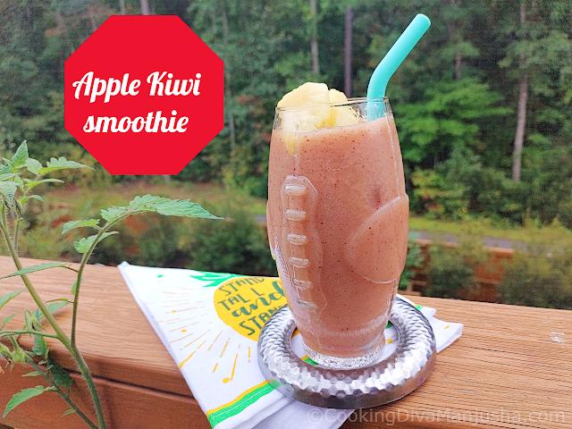 apple-Kiwi-smoothie