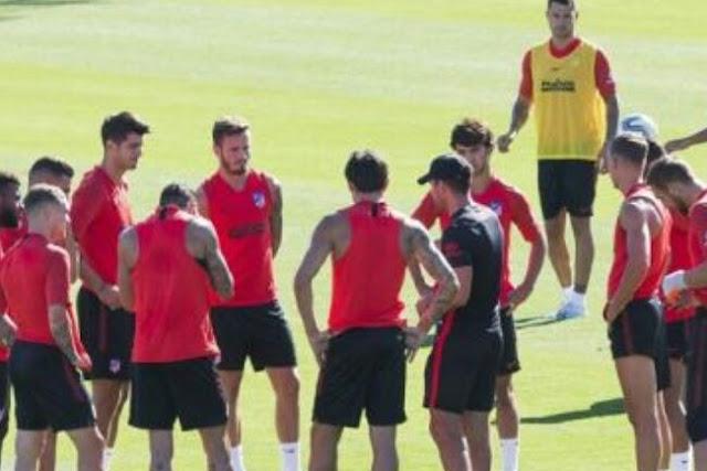 Personel Atletico Madrid Positif Corona