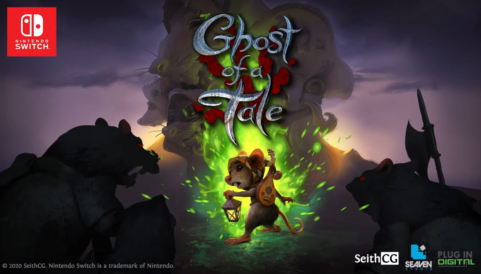 Stunning action-RPG Ghost of a Tale gets a physical Switch release next week!