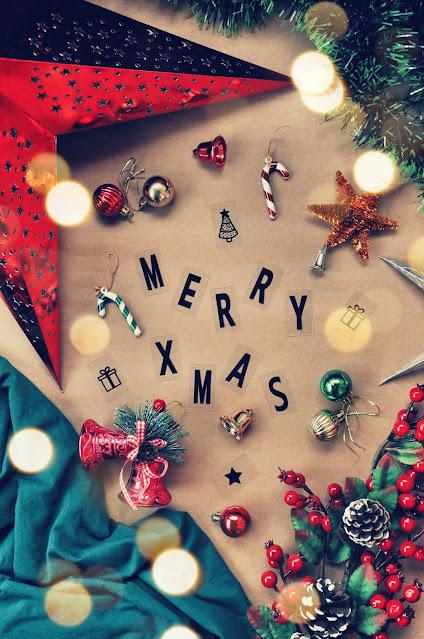 christmas festive flatlay photography StylePrism