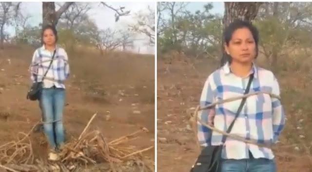 VIDEO.- Amenazan con quemar a cuñada del alcalde de Chiapas le exigen 5 mdp