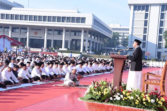 Khotbah di Mabes TNI, DR. H. Andian Parlindungan: Banyak Manusia Alami Kesesatan Karena Melupakan Tuhan