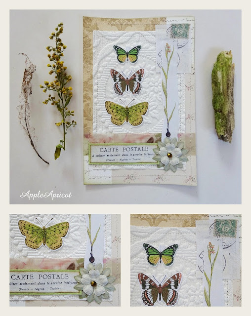 butterfly card by AppleApricot