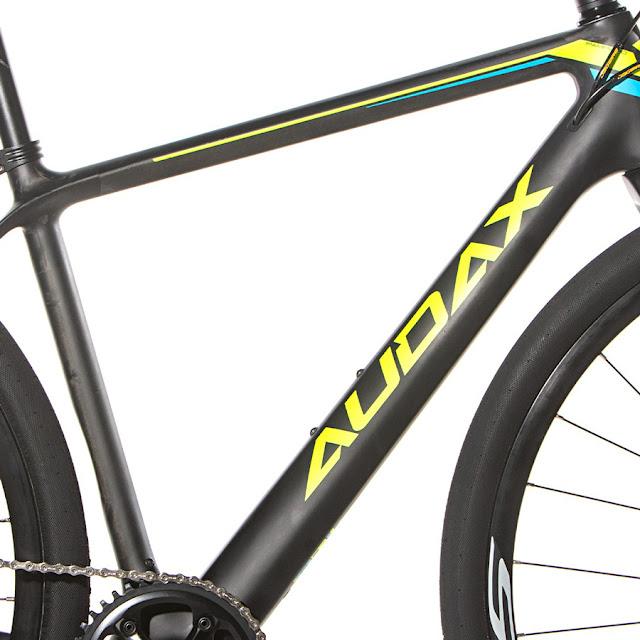 Quadro Audax Bike Pampero Gravel Carbon
