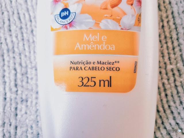 #EuTestei: Shampoo e condicionador SUAVE - MEL E AMÊNDOA