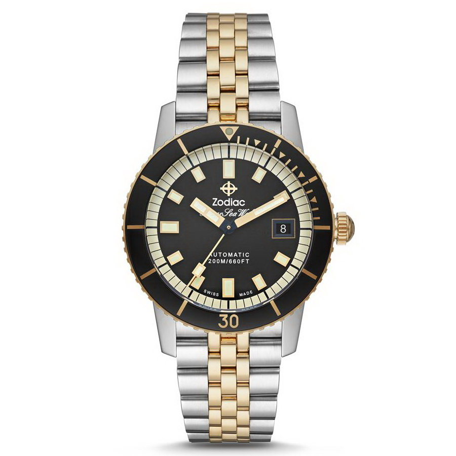 Zodiac's new Super Sea Wolf Automatic Two-Tone Zodiac%2BSUPER%2BSEA%2BWOLF%2BAuto%2BTWO-TONE%2B01