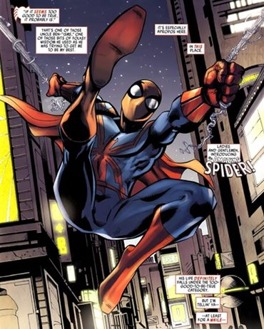 Versión alternativa y diferente, malvada, de Spiderman