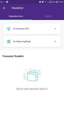 transfer bank via ovo