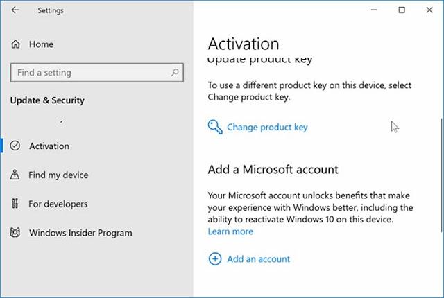 Transfer Lisensi Windows 10 Ke Komputer Baru