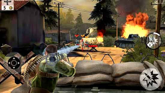 Brothers in Arms 3 Mod Android