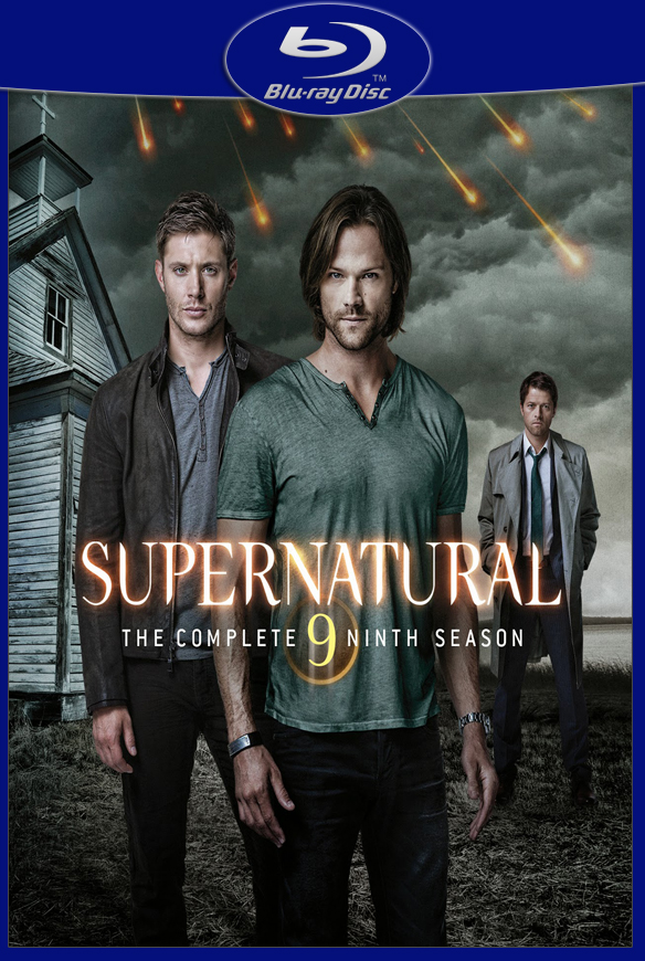 SOBRENATURAL 9ª TEMPORADA COMPLETA (2013) BLURAY 720p DUBLADO