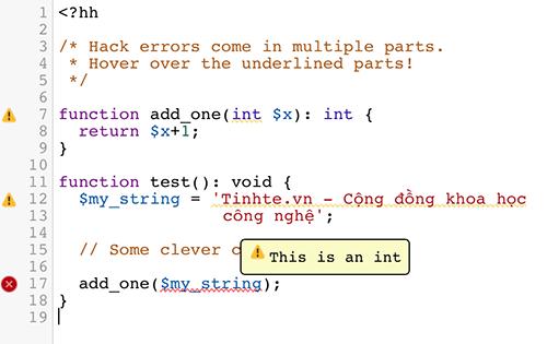 """Facebook giới thiệu ngôn ngữ lập trình """"Hack"""" giúp viết phần mềm nhanh hơn"""
