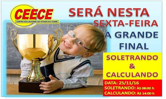 CEECE realiza finais do Soletrando e Calculando nessa sexta