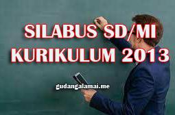 Silabus Kelas 4 SD/MI Revisi Tahun 2020 Full Tema