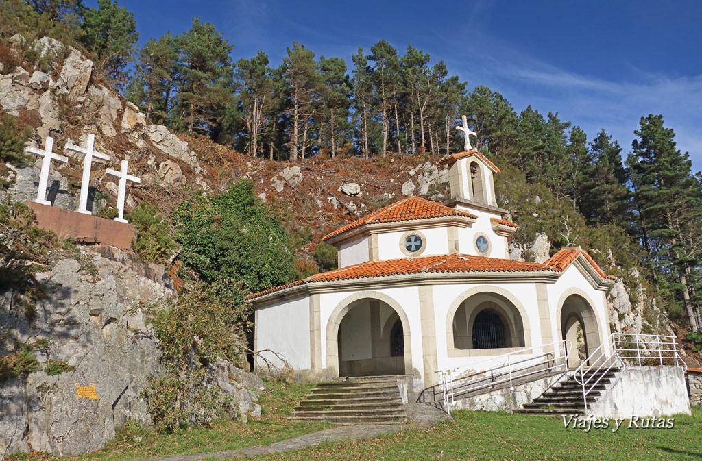 Santuario de la Virgen de la Asunción del Viso, Salas, Asturias