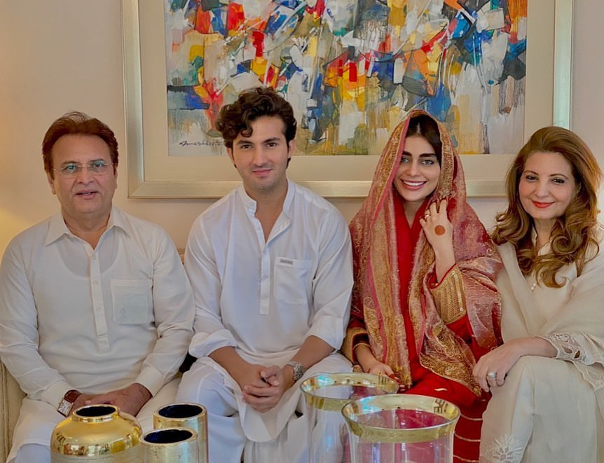Sadaf Kanwal and Shahroz Sabzwari Nikah Photos
