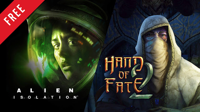 alien isolation hand of fate 2 free pc game epic games store dungeon crawler rogue-like action survival horror creative assembly sega defiant development