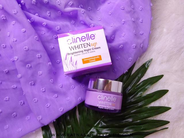 Review Clinelle WhitenUp Brightening Night Cream