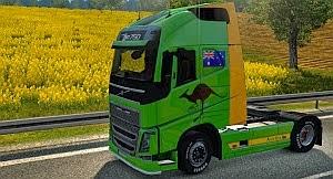 Australian skin for Volvo