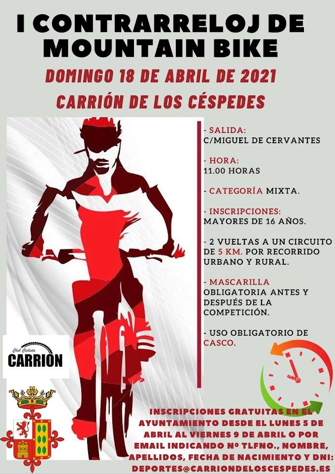 Carrión celebra la semana del deporte, que culmina el domingo con la contrarreloj de Mountain Bike
