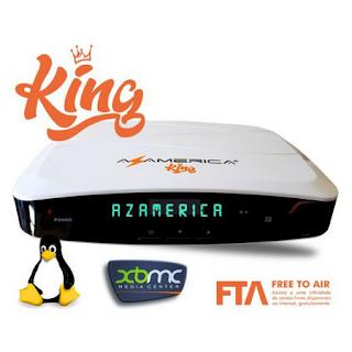 AZAMERICA KING NOVA ATUALIZAÇÀO V1.40 - 22/03/2021