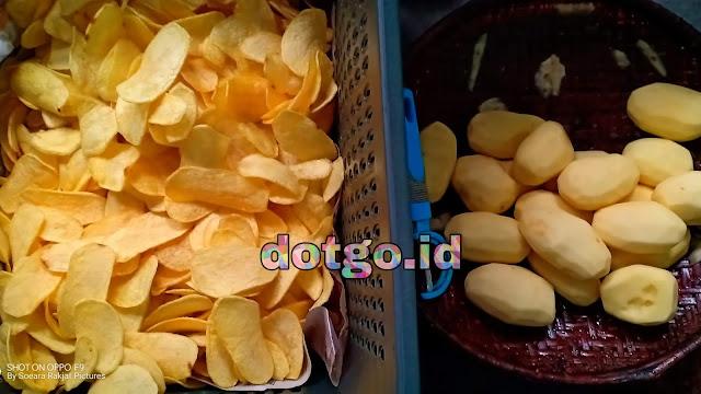 Industri kentang Goreng Keripik Kentang Dieng, oleh-oleh khas Wisata Dataran tinggi Dieng