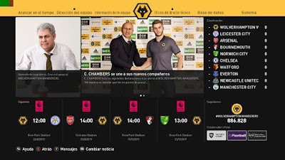 PES 2020 Press Room Wolverhampton Wanderes by Ivankr Pulquero