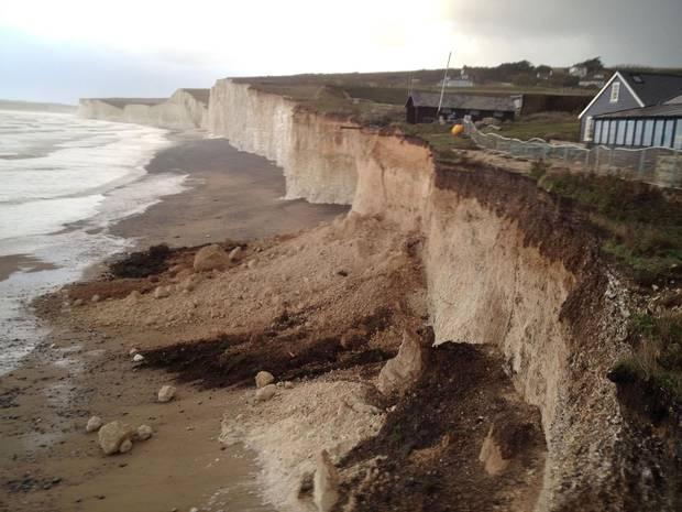 Falling Water House Wallpaper Coastal Erosion Learning Geology