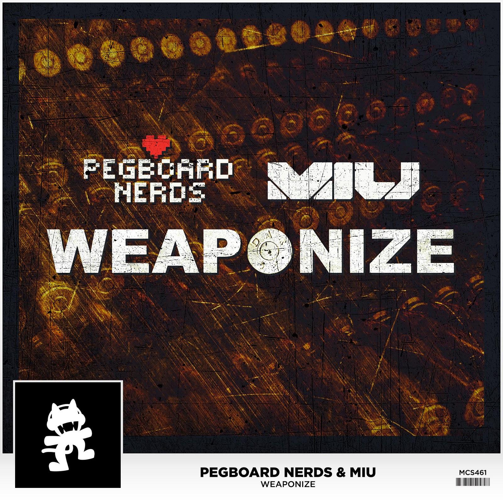 Pegboard Nerds & miu - Weaponize - Single Cover