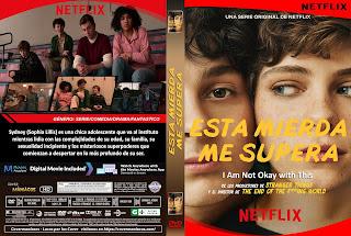 CARATULA ESTA MIERDA ME SUPERA - I AM NOT OKAY WITH THIS 2020[COVER DVD]