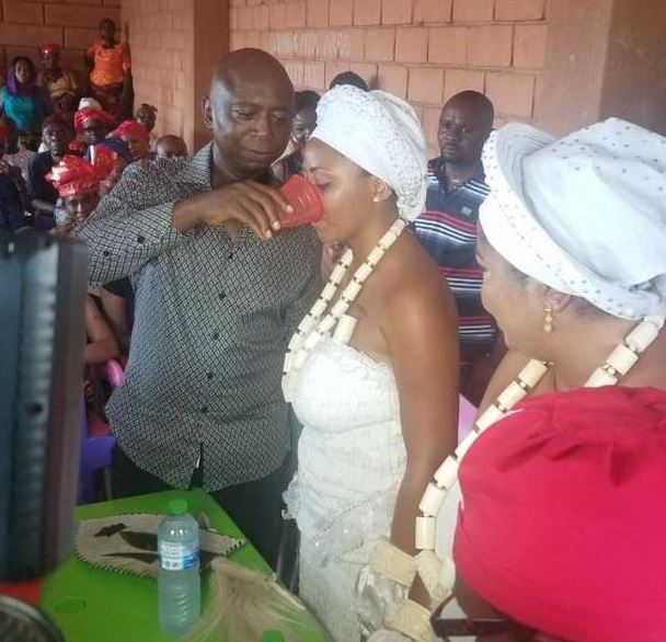 Regina Daniels Marries Ned Nwoko, Inducted Into Womanhood In Anioma As Wife