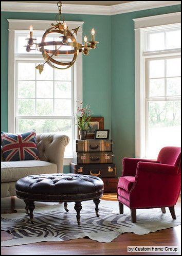 Decorating theme bedrooms - Maries Manor travel theme decorating - paris themed living room