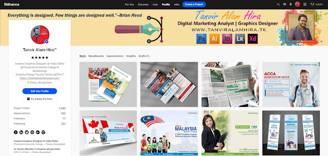 Professional Graphic Designer in Bangladesh