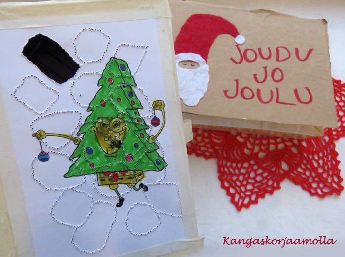 Joulukalenteri konvehtirasiasta