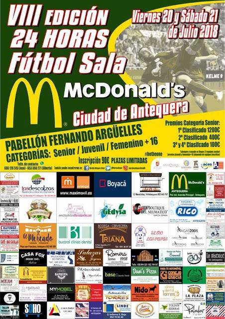 24 Horas Fútbol Sala Antequera 2018