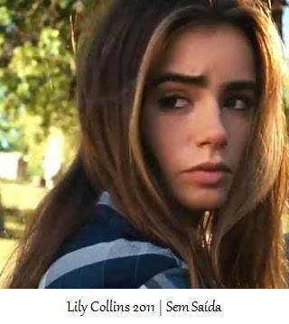 Lily Collins - Sem Saída - 2011