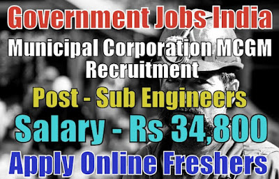 MCGM Recruitment 2019