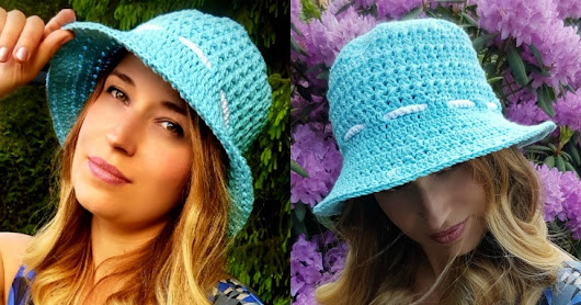 """Let the Sun Shine!"" Sun Hat - Free Crochet Pattern"