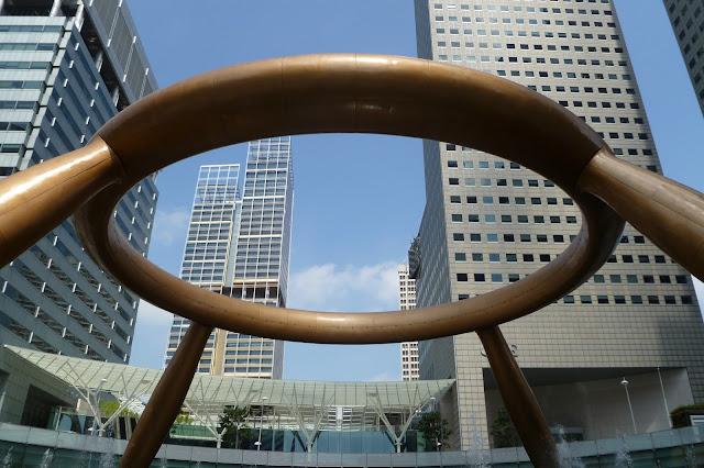 Element fontanny w Singapurze