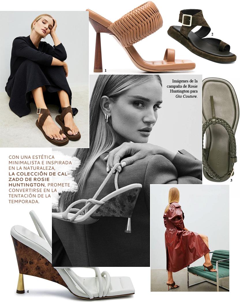 Rosie Huntington ha diseñado las sandalias que desearás tener este verano