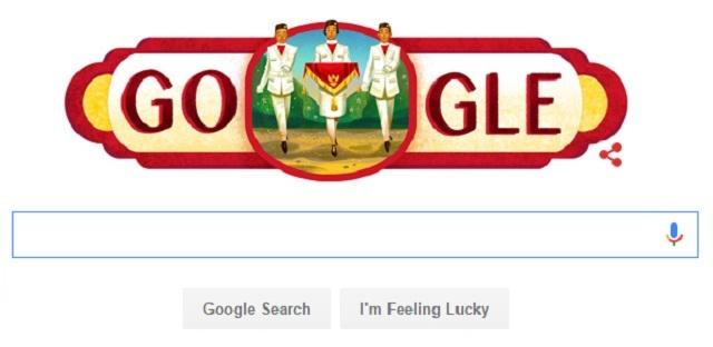 Google Doodle Menanti Medali Emas Di Hari Kemerdekaan Indonesia Dengan Logo Paskibaraka