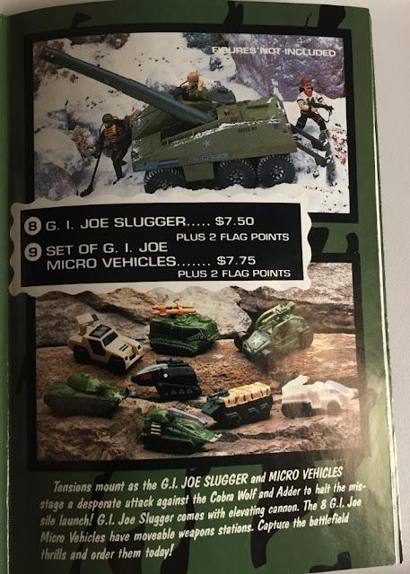 1992 Terror on the Tundra Mail Away Pamphlet, Ninja Viper, Gold Head Steel Brigade, 1992, 1986 Serpentor
