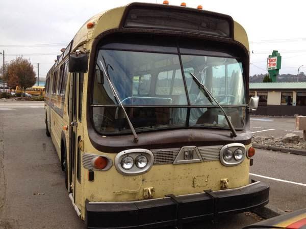 Used Rvs 1982 Gmc Diesel Bus Motorhome Conversion For Sale