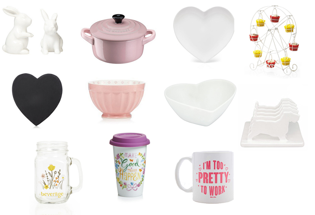 Girly kitchen items
