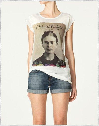 camisetas zara mujer 2019