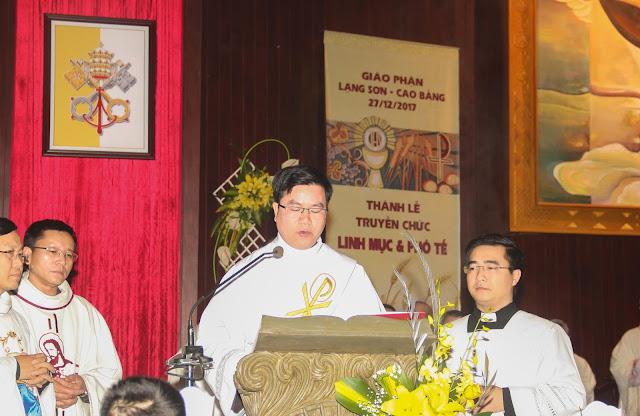 Lễ truyền chức Phó tế và Linh mục tại Giáo phận Lạng Sơn Cao Bằng 27.12.2017 - Ảnh minh hoạ 105