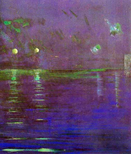 Чюрлёнис Микалоюс Константинас - Сотворение мира V. 1906