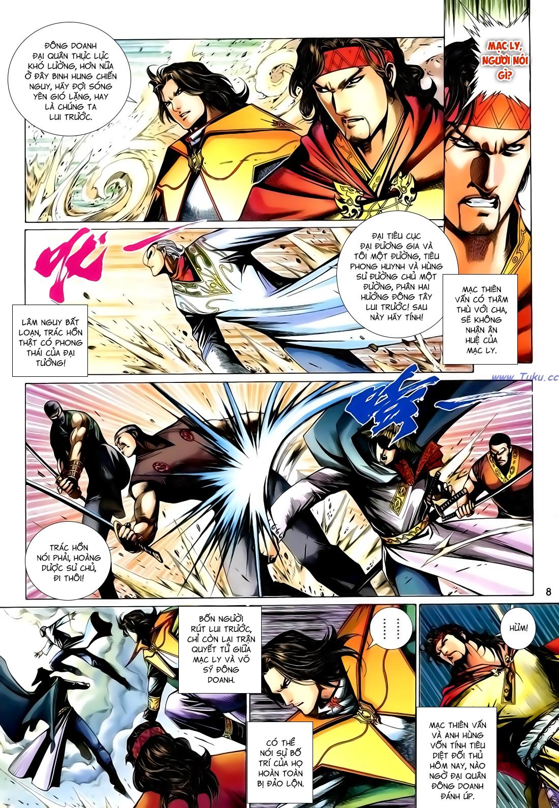 Anh Hùng Vô Lệ Chap 167 - Trang 8
