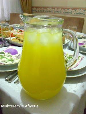 iftar için içecek tarifi