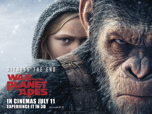 War for the Planet of the Apes - Poster